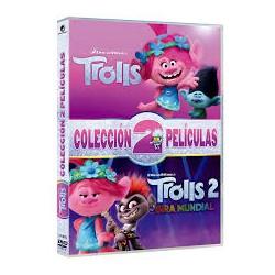 TROLLS 1 +TROLLS 2 (DVD)