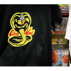 PACK DVD + TEE: COBRA KAI TEAM