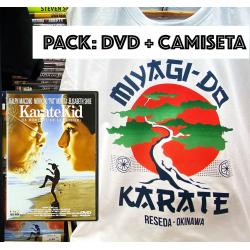 PACK DVD + TEE MIYAGI-DO TEAM