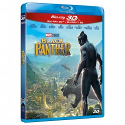 BLACK PANTHER (Bluray 3D+2D)